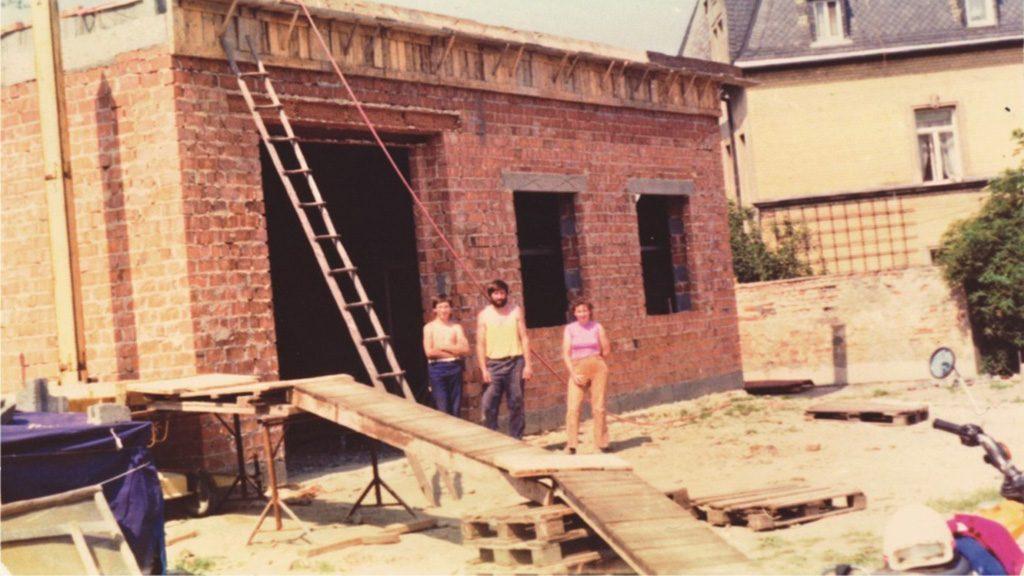 1989 Baubeginn