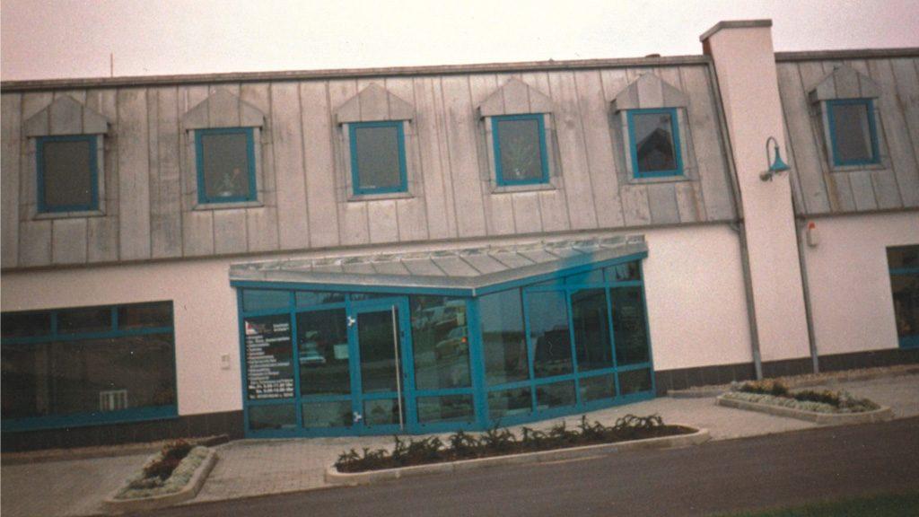 1996 Fertigstellung Anbau